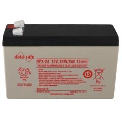 DataSafe μπαταρία μολύβδου 12V 24W/cell