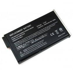 4400mAh Li-Ion battery for HP Presario 1700 - Black