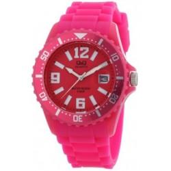 Ρολόι χειρός Q&Q A430J003Y Φούξια