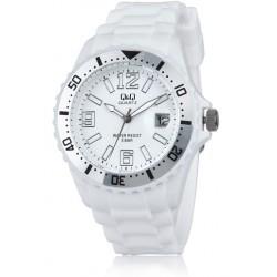 Ρολόι Χειρός Q&Q A430J002Y Λευκό