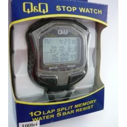 Ψηφιακό Χρονόμετρο Χειρός και Βηματομετρητής Q&Q HS-45