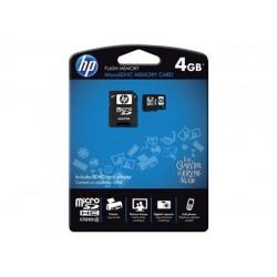 Κάρτα Μνήμης  HP - flash memory card - 4 GB - microSDHC Class 4