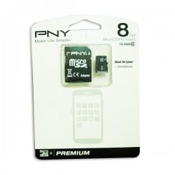 Κάρτα Μνήμης για Navi PNY MicroSDHC 8GB CLASS 4