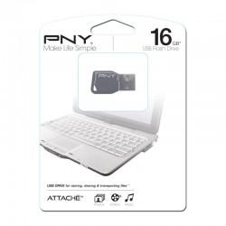 PNY USB Stick  16GB KEY Γκρί