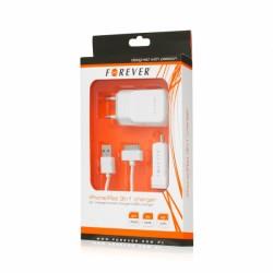 Φορτιστής Forever iphone 3G/4/4S /ipad 3in1