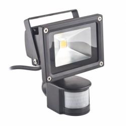 Λαμπτήρας ECO LED FLOOD LAMP warm 10W + PIR