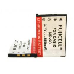 Μπαταρία Fujicell NP-20 for Casio 650mAh