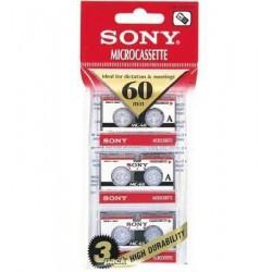 Κασέτες micro Sony 60 Min MC-60  Blister  3  Pack
