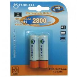 Μπαταρίες Fujicell Επαναφορτιζόμενες AA 2800mAh