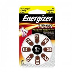 Μπαταρία Ακουστικών Βαρηκοϊας Energizer  312