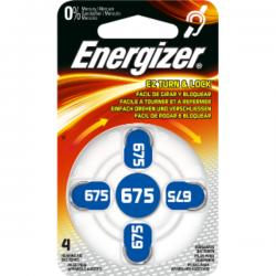 Μπαταρία Ακουστικών Βαρηκοϊας Energizer 675