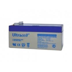 Μπαταρία μολύβδου Ultracell UK 12V - 3,4 Ah