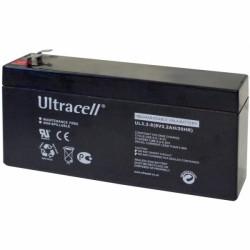 Μπαταρία μολύβδου Ultracell UK 8V - 3,2 Ah