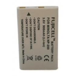 Μπαταρία Fujicell NP-200 Konica/Minolta 900mAh